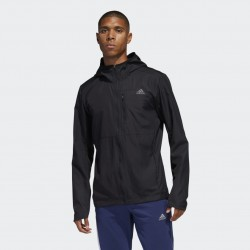 ADIDAS OWN THE RUN HOODED WIND JACKET M