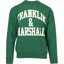 FRANKLIN MARSHALL SWEATSHIRT BRUSHED COTTON FLEECE M