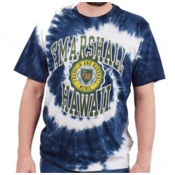 FRANKLIN MARSHALL T-SHIRT tie/dye Navy M