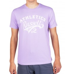 RUSSELL ATHLETIC CREWNECK T-SHIRT A0-008-1 (violet) M