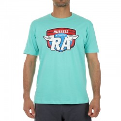 RUSSELL ATHLETIC CREWNECK T-SHIRT A0-064-1 (ver) M