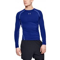 UNDER ARMOUR HeatGear® Long Sleeve Compression Shirt (royale blue) M