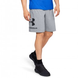 UNDER ARMOUR COTTON GRAPHIC SHORTS grey M