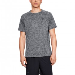 UNDER ARMOUR TECH 2.0 SHORT SLEEVE T-SHIRT (grey melange) M