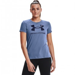 UNDER ARMOUR SPORTSTYLE GRAPHIC T-SHIRT (blue) W