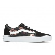 VANS WARD (flowers&check) bl W